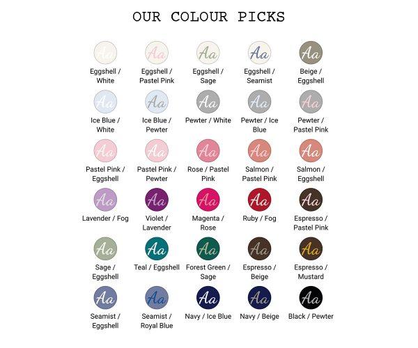 Cot Our Colours