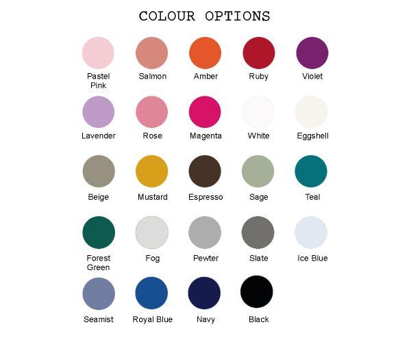 Cot colours